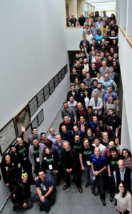 QGIS User Conference 2019 group picture